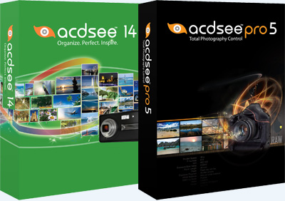 ACDSee 14.3 (build 168), ACDSee Pro 5.3 (build 168)