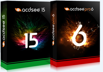 ACDSee 15 (build 169), ACDSee Pro 6 (build 169)